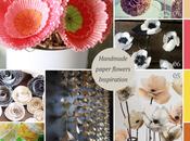 Handmade paper flowers inspiration