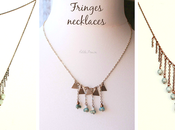 Fringes necklaces {Gypsy Collection inspirations}