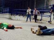Nola, operai Fiat protesta come cadaveri