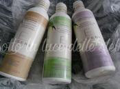 """Prime impressioni Essere: bagnodoccia Eucalipto Camomilla, shampoo delicato balsamo Mango Limone (""""YesBio"""")"""