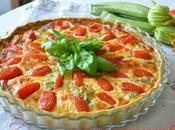 Quiche zucchine pasta basilico