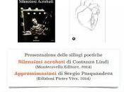 Presentazione delle sillogi Costanza Lindi Sergio Pasquandrea
