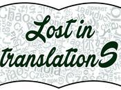 Lost translations. Umorismo traduzione: ridere lingue libri.