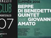 Beppe Benedetto 5tet feat. Giovanni Amato, sabato giugno 2014 Roma.