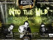 Venerdi' giugno 2014: Into Wild Gianluca Motta (dj), Keller (dj) Thorn (vocalist) Costez Brescia.