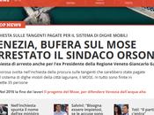 "retata galera ""banda larga"" Venezia: rubavano ""Mose"""