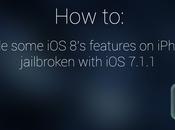 Ecco come avere alcune funzioni iPhone Jailbroken 7.1.1