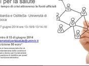 """Summer School 2014 """"Metodi salute-La salute tempo crisi attraverso fonti ufficiali"""", Milano giugno"""