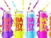 #Maybelline #BabyLips labbra idratate burrocacao colorato creativo