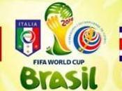 Brasile 2014, Italia Costa Rica: formazioni ufficiali