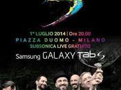 Samsung Galaxy l'evento Milano sarà accompagnato Subsonica