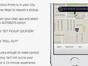 Chiama Uber viaggia Transformer, Optimus Prime Grosso Stunt nota sulla pubblicità fanno tassisti)
