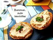 Hummus sulle barchittas