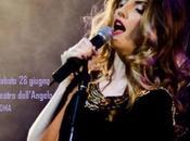 IAMAlina, popstar unisce Italia Romania vivo, sabato giugno 2014 Teatro dell'Angelo Roma.