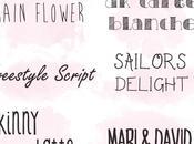 Idee Usare Font Grafie Hand-Written Scaricare