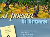 "Palermo lunedì luglio, presenta silloge ""Per Rena altre poesie"" Titos Patrikios"