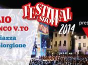 Valerio Scanu Festival Show 2014 nella tappa luglio Castelfranco Veneto.