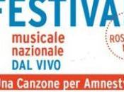Voci Libertà Canzone Amnesty XVII edizione Festival Musicale Nazionale Vivo Dalla terra giovane d'Italia alza canto diritti umani