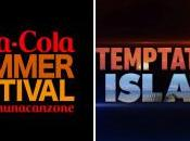 """""""Temptation Island"""", """"Coca-Cola Summer Festival"""" """"FASCINO"""" irresistibile Canale5 accesa d'estate"""