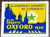 francobollo Congresso Universale Esperanto, Oxford 1930