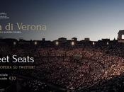 Tweet seats Arena Verona: l'opera portata tweet