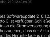 Android 4.4.4 Kitkat Motorola Moto iniziato roll Europa