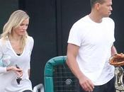 Cameron Diaz ammira Alex Rodriguez mentre allena
