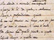 """Manoscritto """"L'infinito"""" Giacomo Leopardi"""