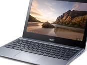 Acer introduce primo Chromebook processore Core