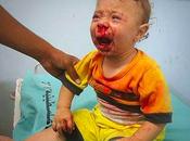 ISRAELE colpisce mare. Spiaggia GAZA fatale bambini