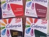Coloreria Italiana arcobaleno colori tessuti.
