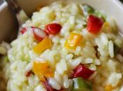 Risotto alle verdure salsiccia.
