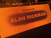 Giffoni: arrivo alan rickman, professor piton harry potter