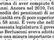 Giuliano Cazzola Brunetta traino della lega: abolire legge Fornero realizzerebbe aspirazioni padani ripristinare PENSIONI ANZIANITA', Italia Oggi luglio 2014