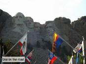 road Mount Rushmore Crazy Horse Memorial