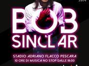 Sinclar Pescara prima data italiana tour 2014