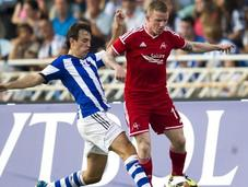 Real Sociedad-Aberdeen 2-0, scozzesi innocui; gioiello Canales (VIDEO GOALS)