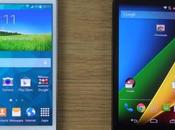 Samsung Galaxy Mini Motorola Moto video confronto