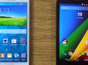 Samsung Galaxy Mini Motorola Moto video confronto italiano