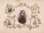 VICTORIAN LADIES' WORKS ART: photocollages.