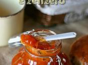 Marmellata albicocche zenzero Apricot ginger
