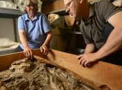 Filadelfia, scheletro sumero scoperto cantina