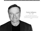 Apple rende omaggio Robin Williams
