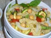 Couscous alle verdure condito salsa senape, agrumi menta