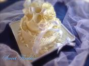 "Torta anniversario matrimonio....una torta ""carta crespa""!"