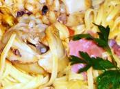 Tagliolini all'uovo sughetto pesce