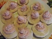 Tartelettes spuma prosciutto