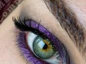 Playing with Nabla eyeshadows Look zero pretese