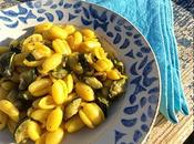 Gnocchetti sardi zucchine zafferano