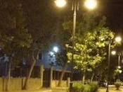 Crotone, torna illuminato viale Regina Margherita
